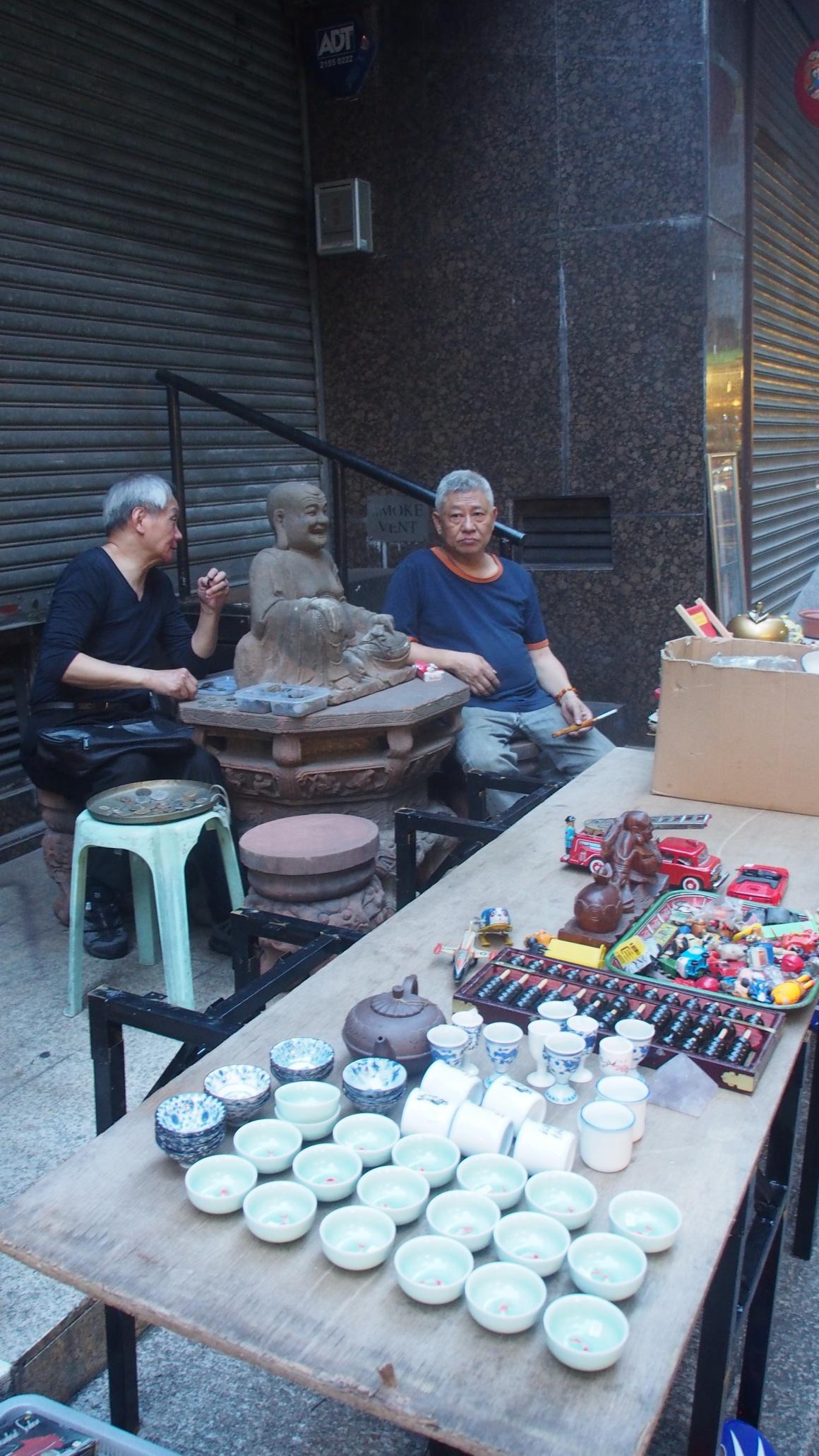 MERCADO DE LAS ANTIGÜEDADES HONG KONG