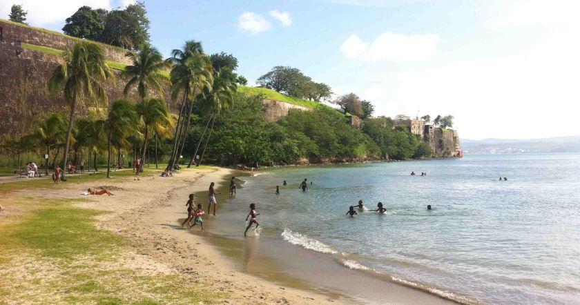 Playa-La Française-Martinica