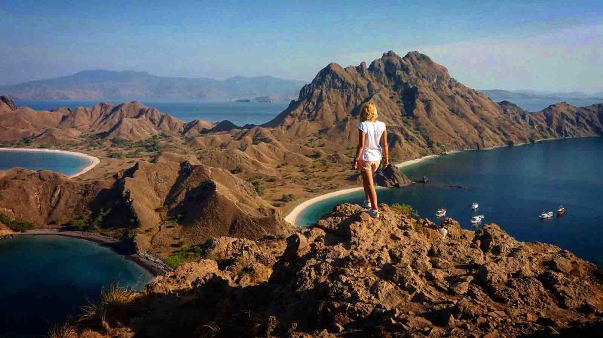 Un día en las islas de Komodo, Padar, Takat Makassar yKanawa