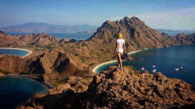 Un día en las islas de Komodo, Padar, Takat Makassar y Kanawa