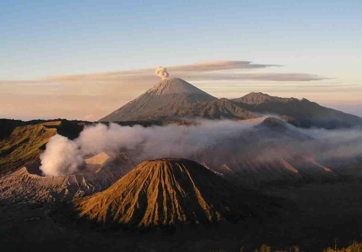 Volcán-Bromo-isla de-java