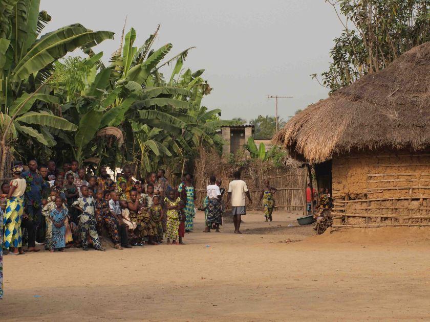 POBLADO EN GRAN POPO BENIN