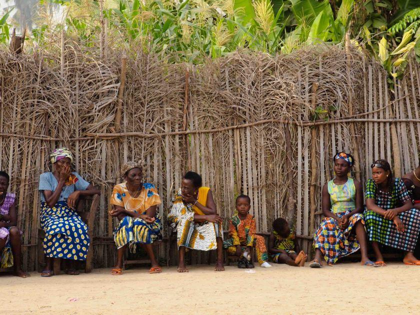 POBLADO EN GRAND POPO-BENIN