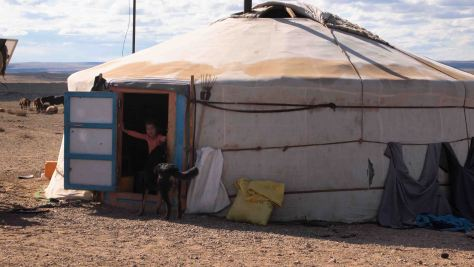 Ger Nomadas Desierto Gobi