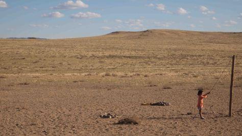 Niña Desierto Gobi