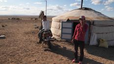 Nomadas Desierto Gobi