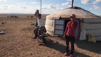 Nomadas-Desierto- Gobi