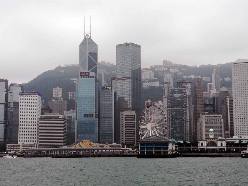 Jardine House y skyline Hong Kong