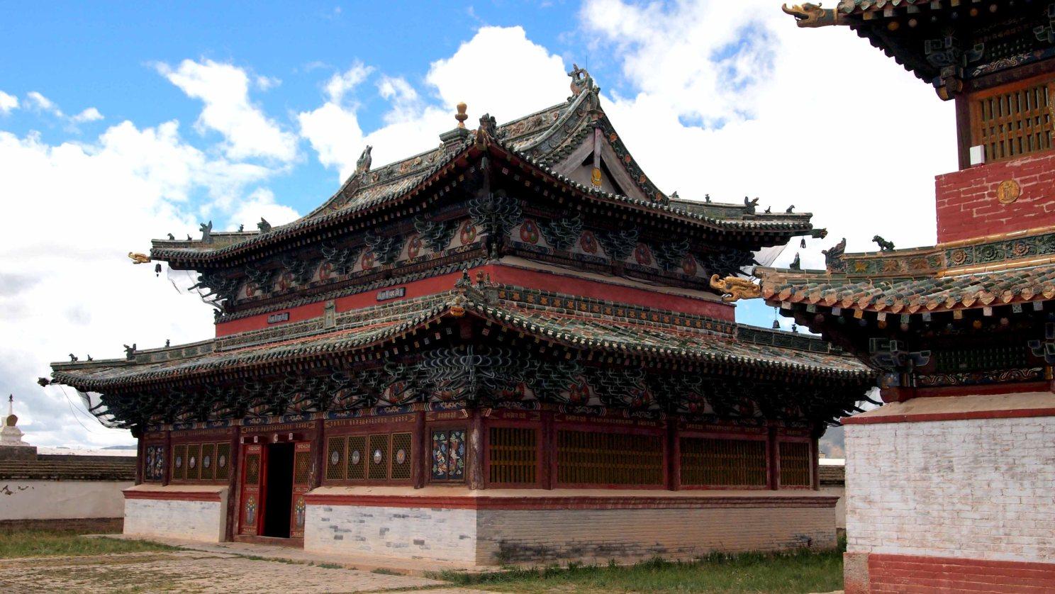 Monasterios-Mongolia