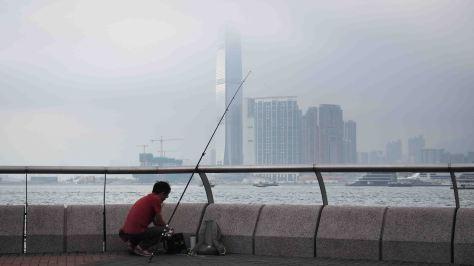Vista de Kowloon desde Tamar Park