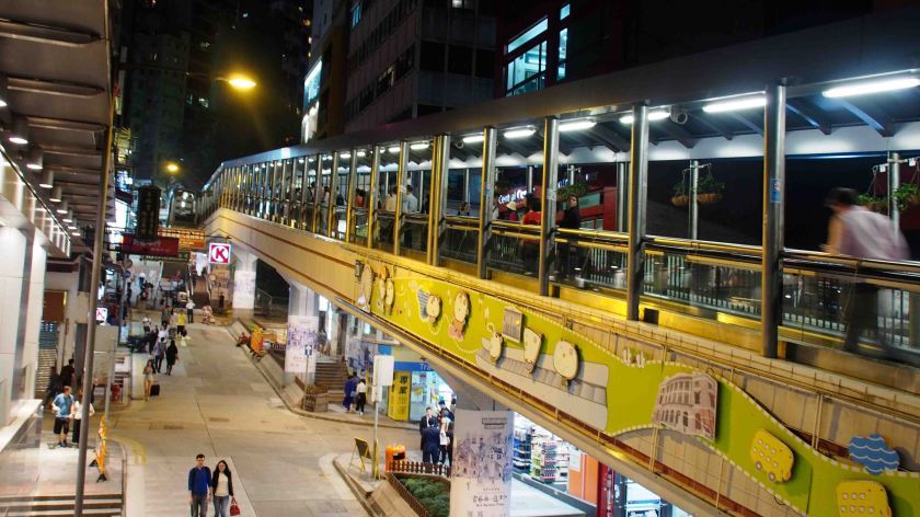 The Central Mid Levels Hong Kong