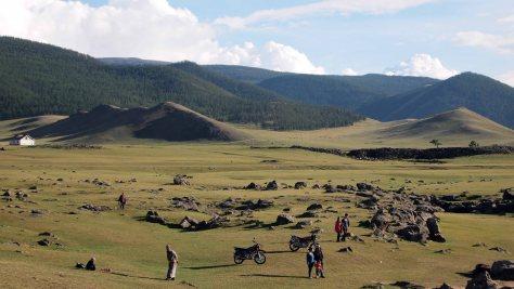 CASCADA ULAAN TSUTGALAN (Orkhon Khurkhree)