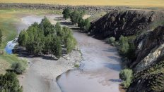 Río Orkhon Mongolia