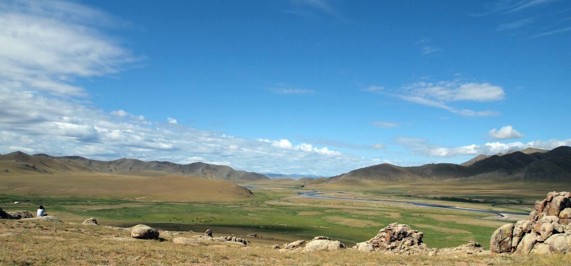 Valle-Orkhon-Mongolia