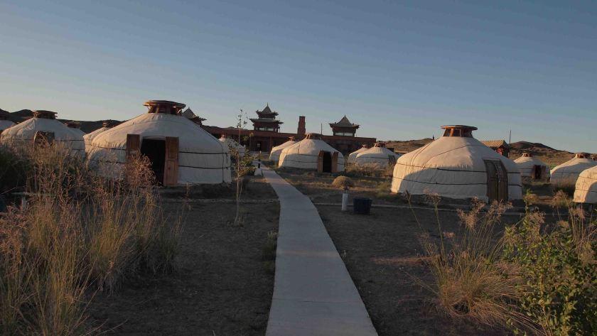 Gers turísticos en el Gobi