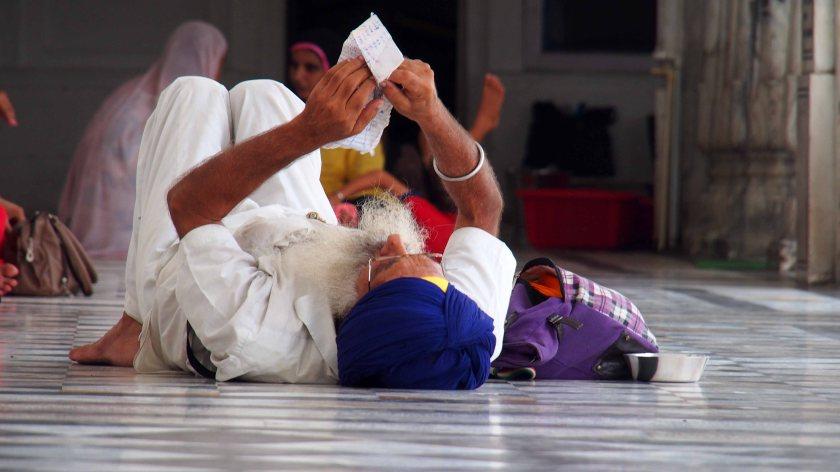 Sin en el Templo dorado de Amritsar