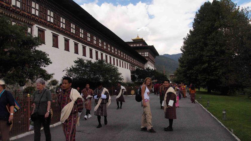 Trashi Chhoe Dzong Thimphu