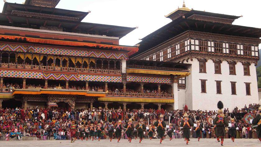 Trashi Chhoe Dzong Bhutan