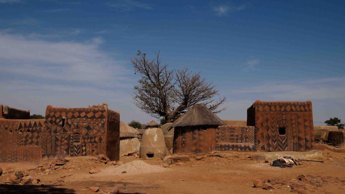 Tiebele, el pueblo más bonito de BurkinaFaso