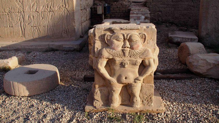 Dios Bes Templo Dendera