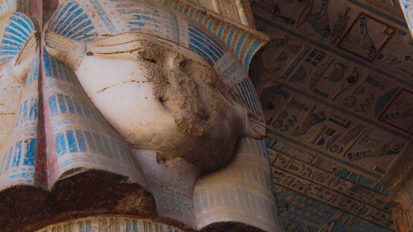Diosa Hathor Templo de Dendera