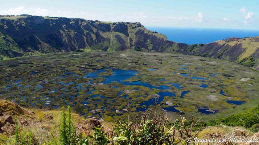 Rano Kau-Isla de Pascua
