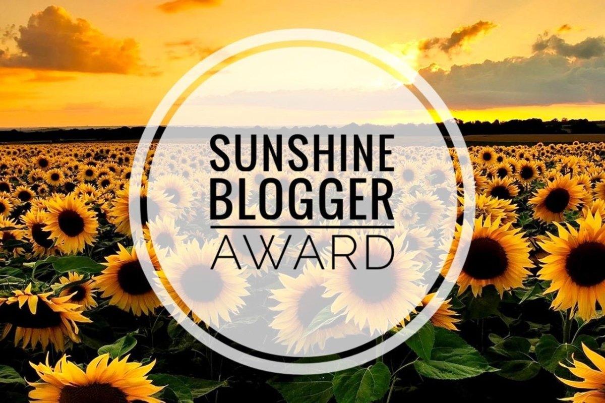 Nominación al Sunshine Award¡¡ Gracias deNuevo:)